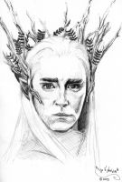 Thranduil by BridgeToNeverland