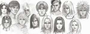Naruto Group by iDNAR