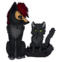 AMG, soo fluffy! - Collab with ShiraTheCat by Moqie