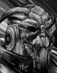Archangel (Grayscale) by 1-Ace