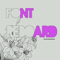Font REBOARD by MyFavoriteEditions