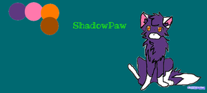 ShaadowPaw/ ShadowPelt by Noblewings174