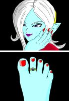 Towa's New Toe Ring by TPL8