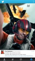 Poe Dameron at work by Sheridan-J