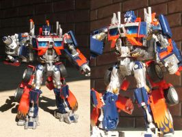 Movie Prime repainted by Unicron9
