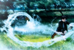 Fan Art Avatar Waterbender by RacoonFactory