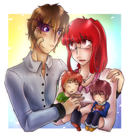 -Family Portrait- by BakaNekoChanSan