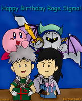 A gift from Nathan and his friends. by Hylian-Socks