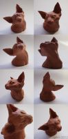 devon rex- clay by grihm