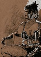 Dr.Sketchy CLE - FeverBlister2 by timswit