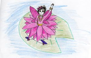 Lily Pad Fairy by AtticusBlackwolf