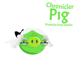 Chronicler Pig (Voiced by Ernie Sabella) by jared33