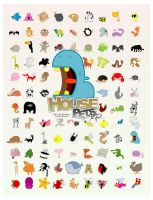 House Pets - 96 Animals by Rawrik