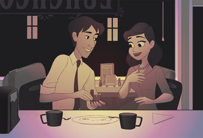 Paperman Proposal by julvett