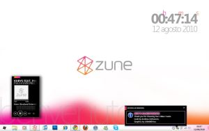 Zune Desktop 2 by metrovinz
