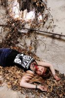 young girl is dead by Piounoid