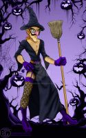 Waluween Day 27 - Witch (Complete) by Sekhmet17