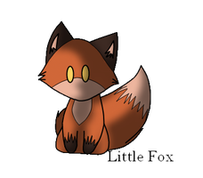 Little Fox by goldenstripe