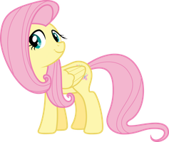 Another Fluttershy Vector by VladimirMacHolzraum