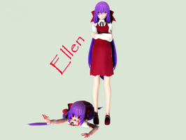 [MMD] The Witch's House ~ Ellen (+download) by IceGlacis