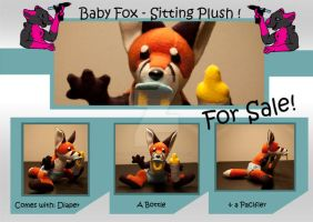 Cub fox - For sale on Furbuy! by FurryFursuitMaker