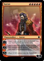 auron magic the gathering card by Ryaxx