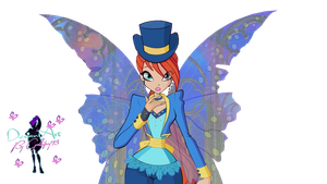 Winx Club Bloom Halloween S6 - PNG by Gallifrey93