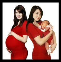 Befor And After Pregnancy by Knukkohed