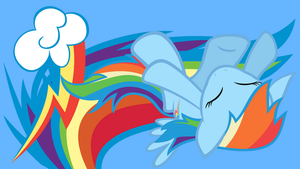 Rainbow dash Snuggles by neodarkwing