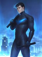 Nightwing by Guilhcrmc