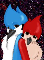 Mordecai and Margaret Space by Hahli1994