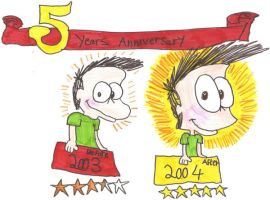 James Fox's 5th Anniversary 2 by Jamesf5