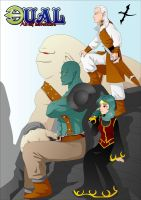 Dual: An Elf Adventure cover by Lord-Yoda