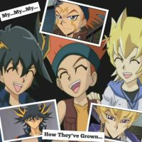 YuGiOh 5Ds Wallpaper: My My My How They've Grown by XxXxRedRosexXxX