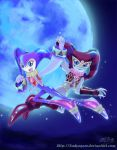 Dance in the moon by D-Thessy