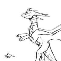 ..:Sketch Trade with cynder-lany:.. by Zainnah
