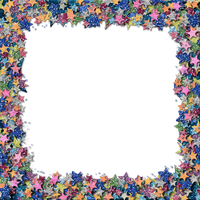 Glitter Star Border by HGGraphicDesigns