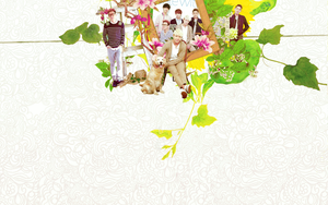 1102014 SuperJunior date with magazine wallpaper by Kr137
