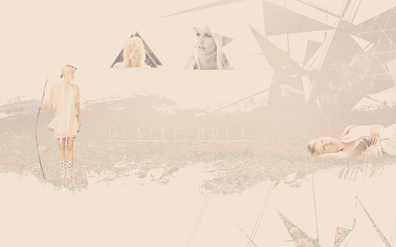 Wallpaper Claire Holt by Leeloochan