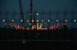 Airport lights by zeciszon