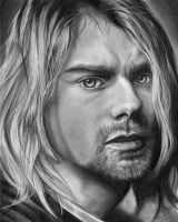 Kurt Cobain by hmxart
