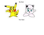 Pikachu and Jigglypuff in Meme Style by PokeGirlRULES