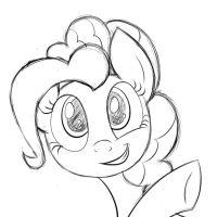 Smile(sketch) by HeavyMetalBronyYeah