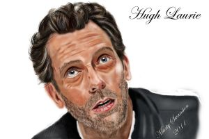 Hugh Laurie by Martystar