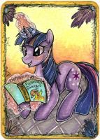 ACEO: Reading Twi by Suane