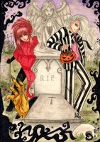 Ray and Dario Halloween by Byrsa