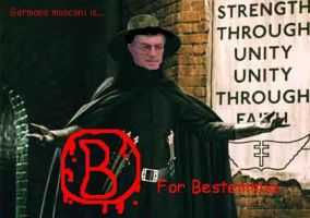 B for bestemmia by Draxir