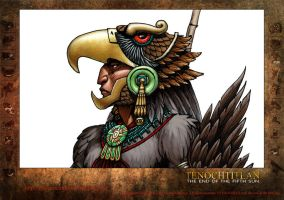 Eagle Warrior concept character study. Detail by Jaime-Gmad