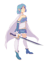 sayaka by peachgelic