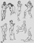 figures 4 by Luthie13